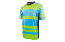 ixs Addanc Backcountry Jersey blauw-groen